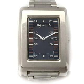 アニエスベー(agnes b.)のアニエスベー 腕時計美品  V182-5A00(腕時計)