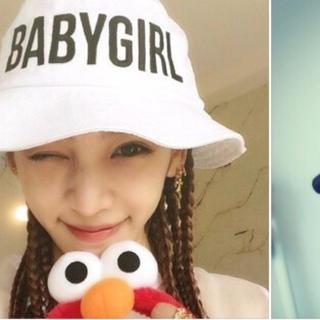 スタイルナンダ(STYLENANDA)の韓国ファッション BABYGIRLハット メグベイビー(キャスケット)