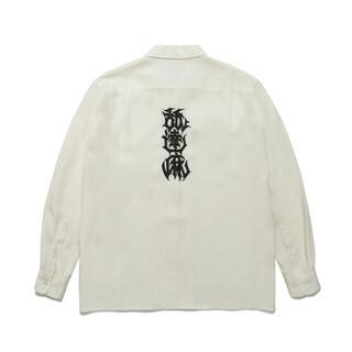 ワコマリア(WACKO MARIA)の【L】舐達麻 ワコマリア  コラボシャツ(シャツ)