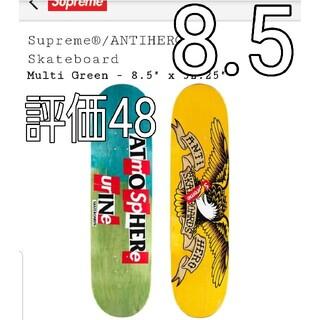 シュプリーム(Supreme)のSupreme ANTIHERO skate deck Multi Green(スケートボード)