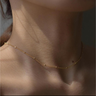 BEAUTY&YOUTH UNITED ARROWS - Daughters jewelry ♦︎ Muse dot necklace