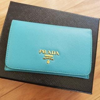 プラダ(PRADA)のPRADA プラダ カードケース 名刺入れ(名刺入れ/定期入れ)