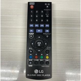 エルジーエレクトロニクス(LG Electronics)のLG  Blu-ray Disc Player リモコン ブルーレイ BP250(その他)