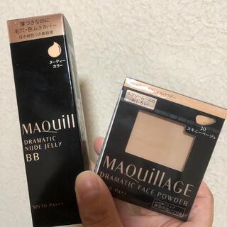 MAQuillAGE - 11月新発売☆新品 未使用 マキアージュ BBとフェイスパウダー