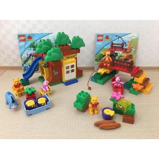 Lego - LEGO レゴ duplo デュプロ プーさん 3点セット