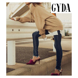 GYDA - 完売色 GYDA レイヤードパーカー ベージュ