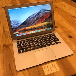 マック(Mac (Apple))のi7 256GB MacBook air 13インチ mid2011(ノートPC)