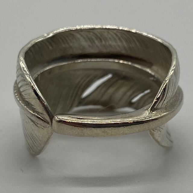 goro's(ゴローズ)のゴローズ 美品 小金メタル付フェザーリング 19号 メンズのアクセサリー(リング(指輪))の商品写真