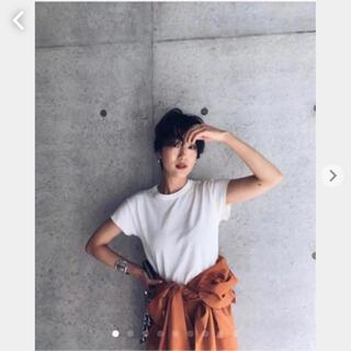 SeaRoomlynn - コットン2FACEサークルネックTシャツ