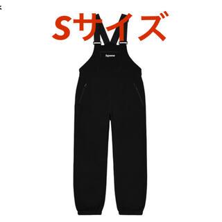 シュプリーム(Supreme)の【Sサイズ】Supreme Polartec Overalls 黒(サロペット/オーバーオール)