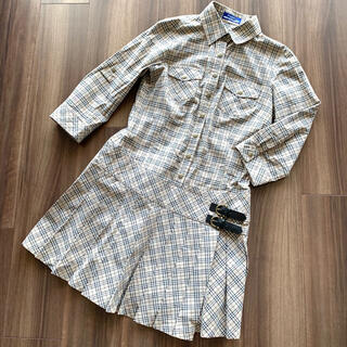 BURBERRY BLUE LABEL - BURBERRY ワンピース