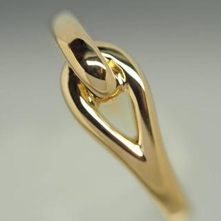 Tiffany & Co. - vr ティファニー Tiffany&Co. K18YGノットリング7.8号750