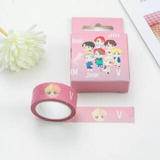 BTS★V.ブイ☆かわいいマスキングテープ♪