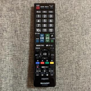 シャープ(SHARP)のSHARP AQUOS TV リモコン GB129WJSA(その他)