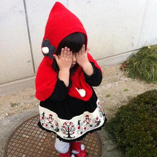 Shirley Temple - Shirley Temple*赤ずきんちゃんワンピとポンチョセット90,100