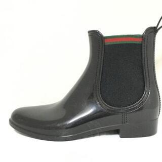 グッチ(Gucci)のグッチ レインブーツ レディース - ラバー(レインブーツ/長靴)