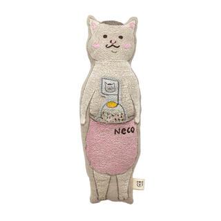 アッシュペーフランス(H.P.FRANCE)の猫村さん コーラルアンドタスク ポケットドール プレゼント用にも(クッション)