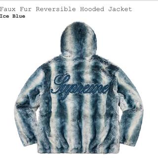 Supreme - Faux Fur Reversible Hooded Jacket Lサイズ