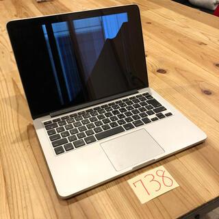 マック(Mac (Apple))の訳あり!MacBook pro retina 13インチ early2015(ノートPC)