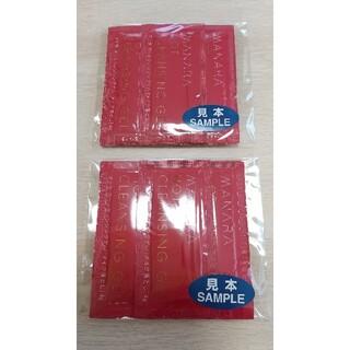 マナラ(maNara)のマナラ ホットクレンジングゲル 新品サンプル7包入×2袋(クレンジング/メイク落とし)