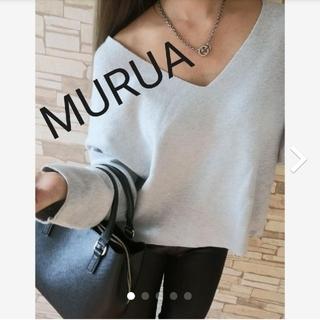 MURUA - Vネックセーター