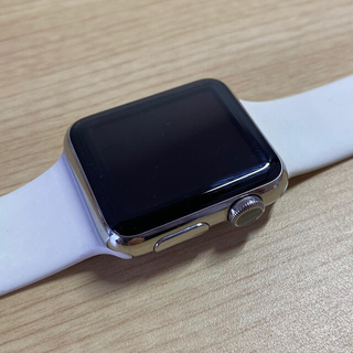 アップルウォッチ(Apple Watch)のAppleWatch 初代 38mm 本体とバンドと充電器セット(腕時計(デジタル))
