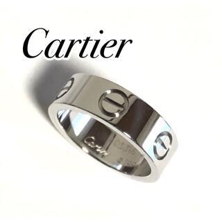 Cartier - カルティエ ラブリング K18WG ホワイトゴールド 49号 証明書付