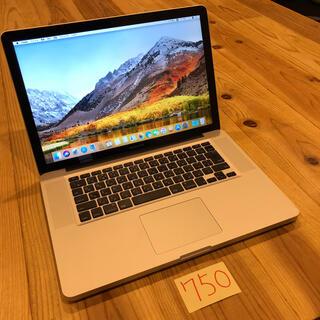 マック(Mac (Apple))のフルカスタム!MacBook pro 15インチ Late2011(ノートPC)