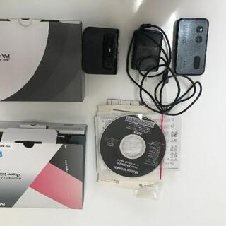 エヌイーシー(NEC)のモバイルWIFI WM3800Rとクレードルのセット(その他)