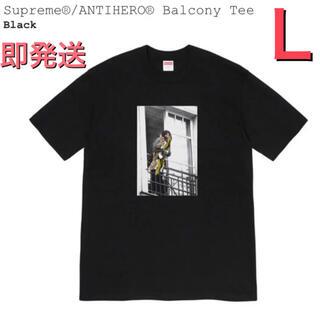 Supreme - supreme Anti Hero Balcony Tee Lサイズ black
