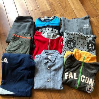 NIKE - 男児服 150センチ 9点セット NIKE、adidas、グローバルワークなど