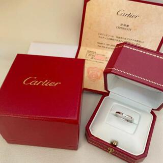 Cartier - 新品仕上げ済⭐︎ カルティエ バレリーナリング プラチナ  ダイヤ 3P