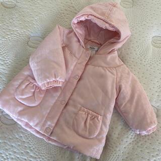 baby Dior - baby Dior*ロゴのピンクダウンコート18M