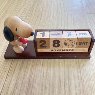 ピーナッツ(PEANUTS)の【エコ♡一生使えるカレンダー】スヌーピー  万年カレンダー(カレンダー/スケジュール)