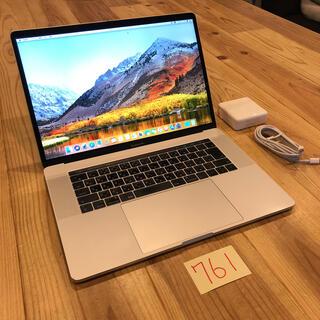マック(Mac (Apple))の格安!MacBook pro 15インチ 2017 SSD512GB(ノートPC)