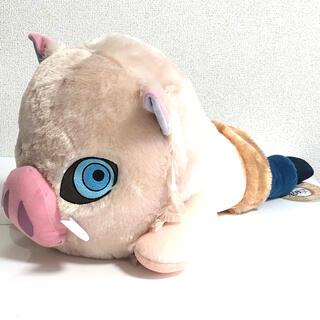バンプレスト(BANPRESTO)の鬼滅の刃 メガジャンボ寝そべりぬいぐるみ 伊之助 獣面Ver(ぬいぐるみ)