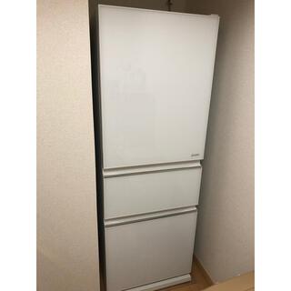三菱 - 三菱 MR-CG33EE-W 330L ほぼ新品 冷蔵庫 右開き