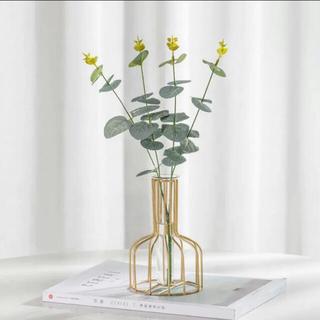 フランフラン(Francfranc)のシンプル 北欧 ゴールド ワイヤー フラワーベース(花瓶)