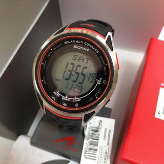 セイコー(SEIKO)のセイコー ソーマ SEIKO SOMA 定価28,600 ソーラー時計 腕時計(腕時計(デジタル))