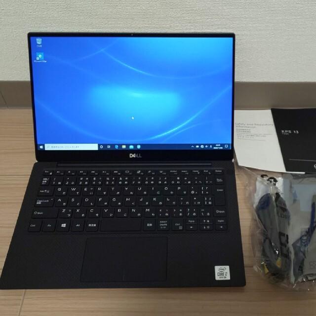 DELL(デル)のDELL XPS 7390 プラチナ 4Kモデル Core i7-10710U スマホ/家電/カメラのPC/タブレット(ノートPC)の商品写真