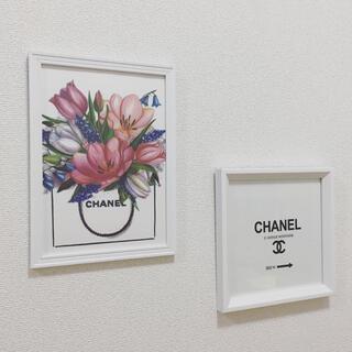 Francfranc - アートポスター A4サイズ 白フレーム付き 壁掛け