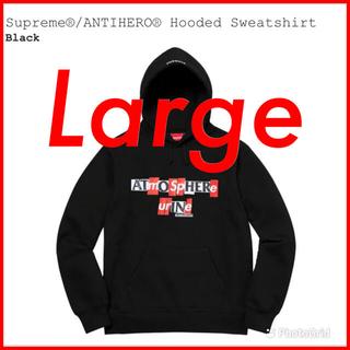 Supreme - Supreme ANTIHERO Hooded Sweatshirt large