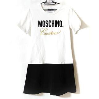 モスキーノ(MOSCHINO)のモスキーノ ワンピース サイズ 美品  -(その他)