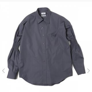 アレッジ(ALLEGE)のALLEGE 20ss ギャザースリーブシャツ トーマスメイソン(シャツ)