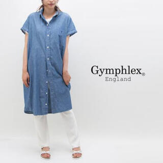 ジムフレックス(GYMPHLEX)のGymphlex シャンブレー シャツワンピース(ロングワンピース/マキシワンピース)