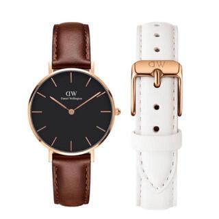ダニエルウェリントン(Daniel Wellington)の【32㎜】ダニエル ウェリントン腕時計DW169+ベルトSET〈3年保証付〉 (腕時計)