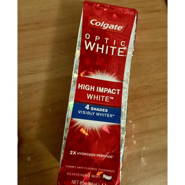 コルゲート ハイインパクト オプティックホワイト 歯磨き粉 85g   コスメ/美容のオーラルケア(歯磨き粉)の商品写真