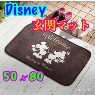 ディズニー(Disney)の Disney   玄関マット  ⦅ Mickey & Minnie⦆(玄関マット)