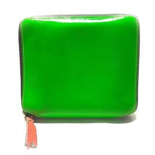コムデギャルソン(COMME des GARCONS)のコムデギャルソン 2つ折り財布 - レザー(財布)