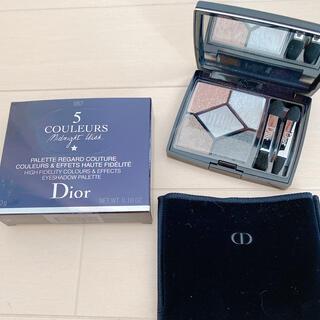 クリスチャンディオール(Christian Dior)の☆限定 ほぼ新品☆ディオール サンク クルール 057 ムーンライト(アイシャドウ)